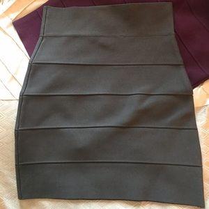 BCBG Simone Sweater Textured Power Skirt
